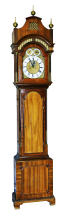 A simple picture of a Grandfather clock.
