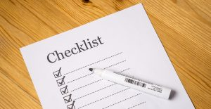 By having a checklist you will know how to pack a moving truck