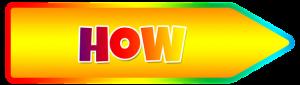 Word - how in yellow arrow