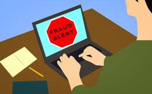 Fraud alert - on laptops desktop