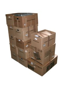 Moving companies with good reviews unload items carefully