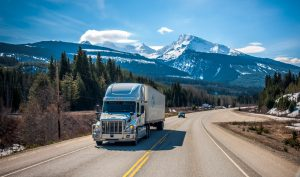 white truck on the road best rated national moving companies