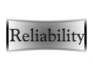 Reliability sign