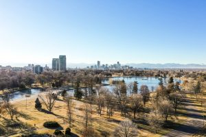 Denver lake and park