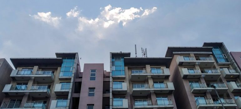 apartments up in the sky